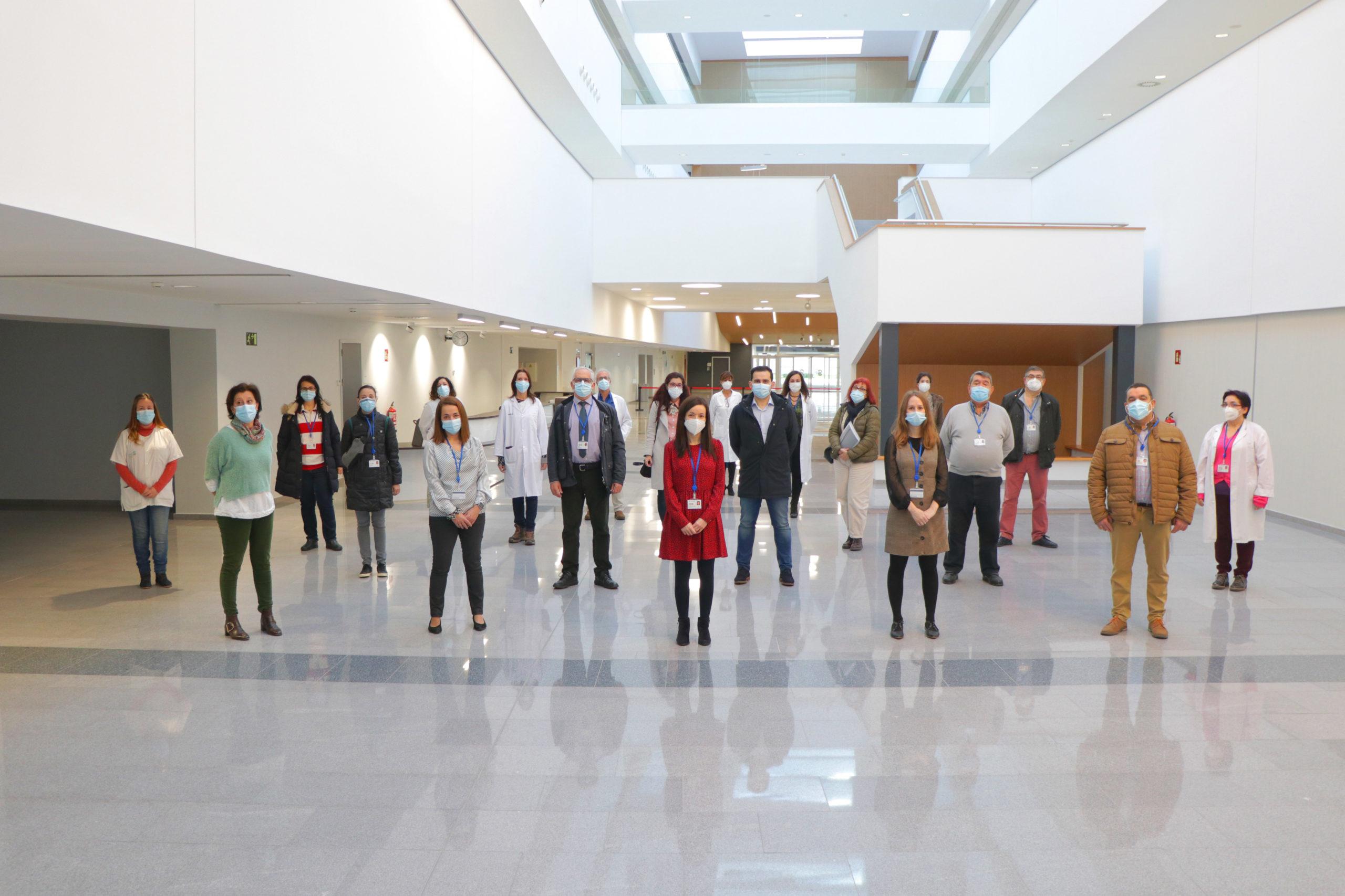 2021-2-15 FOTO Servicio Neurología Nuevo Hospital de Toledo