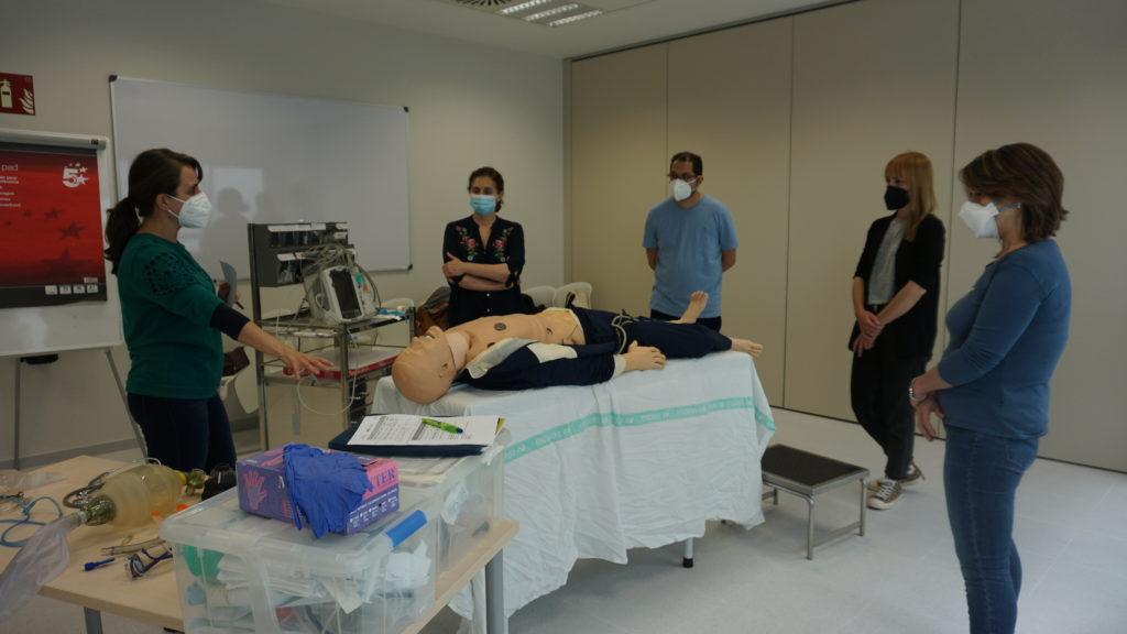 El Hospital Universitario de Toledo acoge los cursos de reanimación cardipulmonar avanzados para personal sanitario