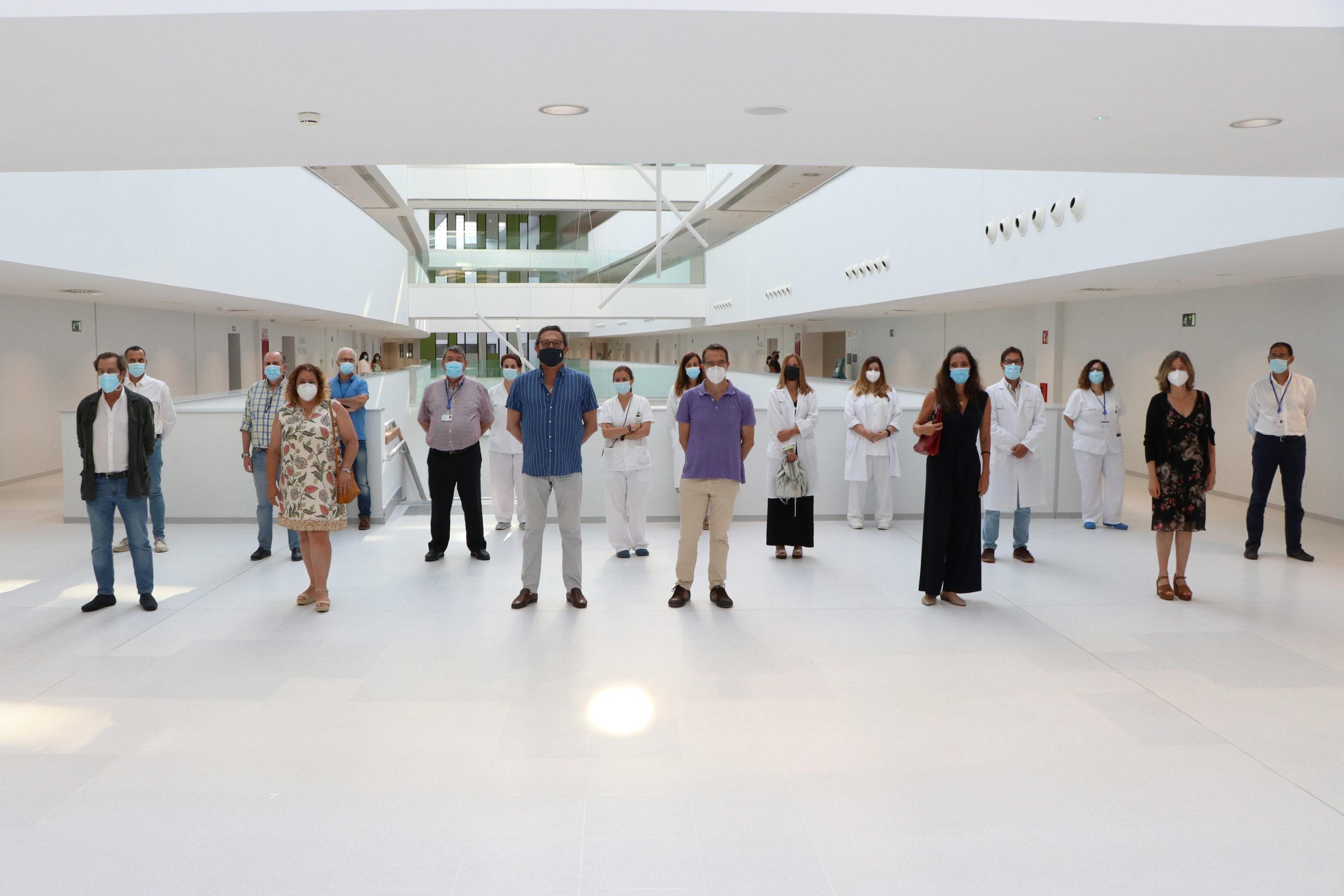 2021-6-8 FOTO1 Traslado Servicio Urología Nuevo HUT