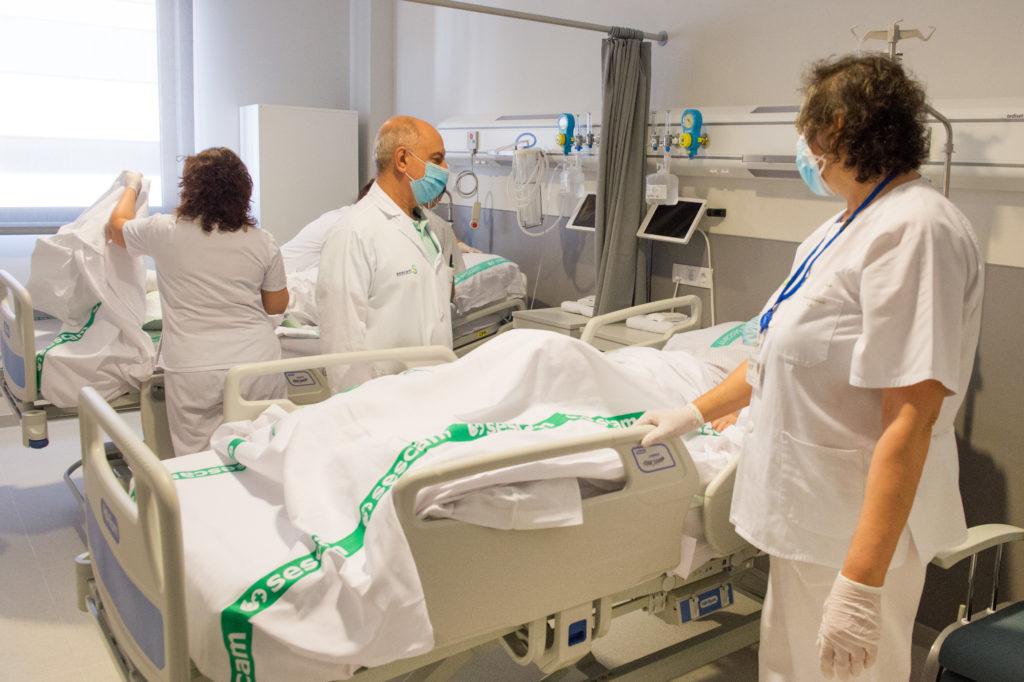 El Hospital Universitario de Toledo ha comenzado a recibir hoy los primeros pacientes hospitalizados